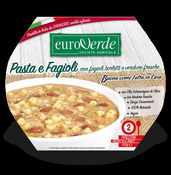 Pasta e fagioli Euroverde