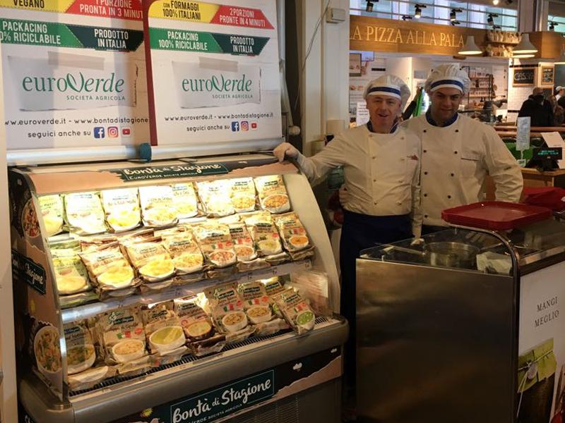 Eataly Roma firma il successo della degustazione Euroverde