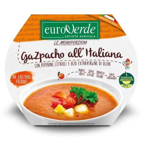 Gazpacho all'italiana.