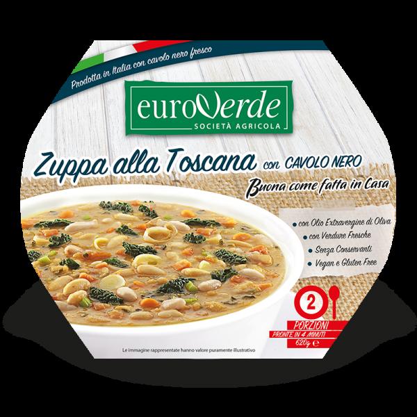 Zuppa Toscana con cavolo nero fresco Euroverde