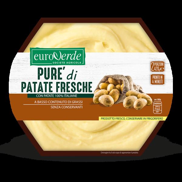 Pure di patate fresche Euroverde