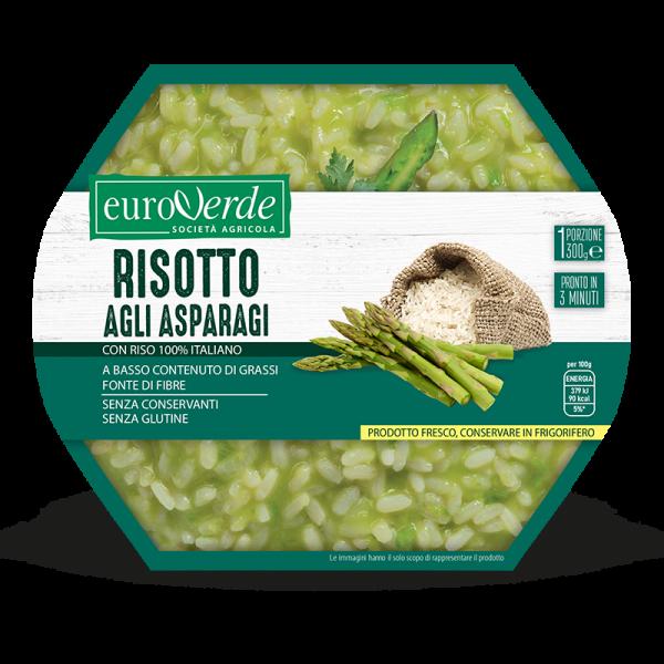 Risotto agli asparagi Euroverde